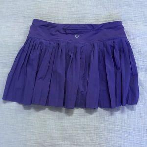 Lululemon Purple Pleat to Street Skirt II